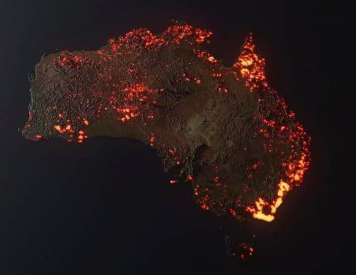 December 2019 fires in Australia