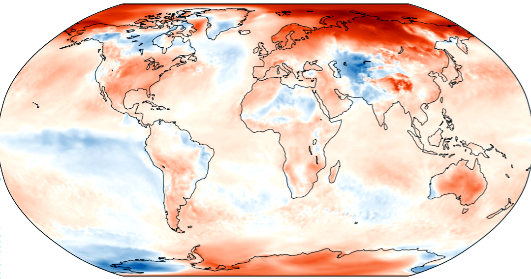 Hottest November on Record