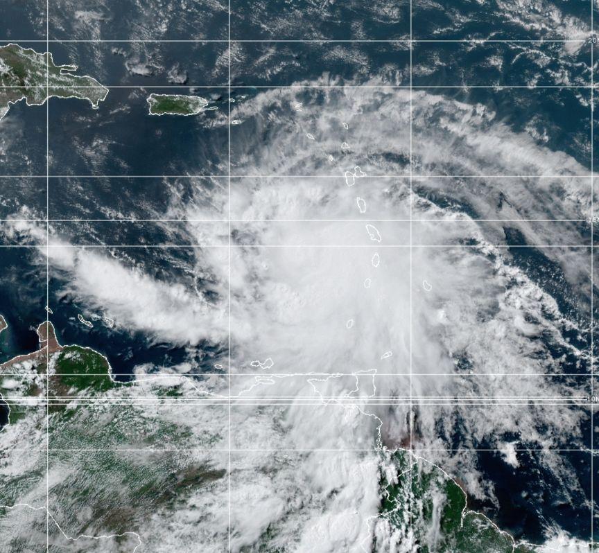 Hurricane Elsa July 2nd, 2021