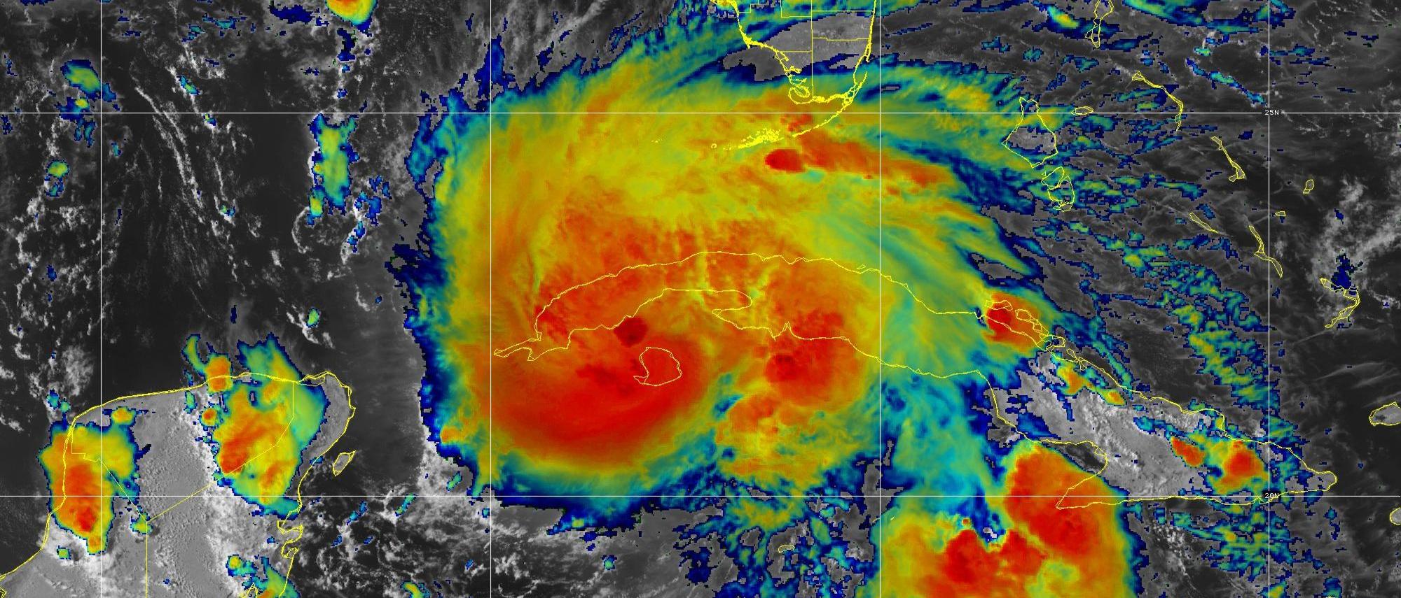 Hurricane Ida Heads for the Gulf Coast